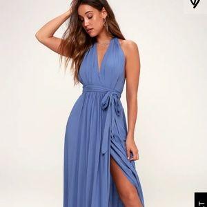 Lulu's Periwinkle Blue Dress NWOT